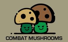 COMBAT MUSHROOMS logo