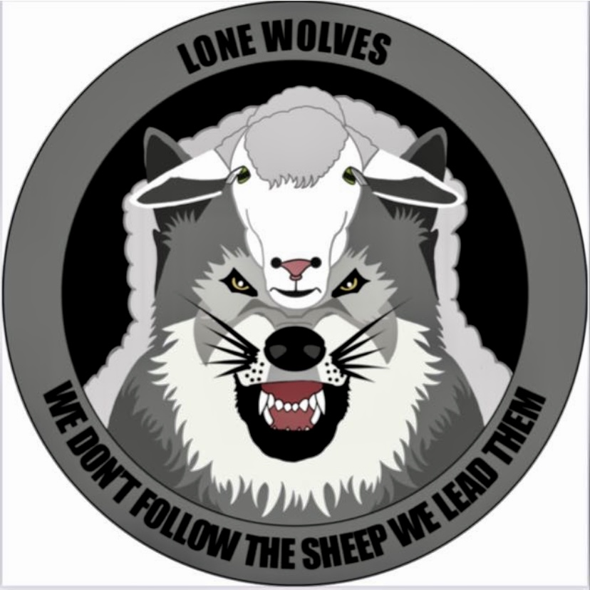 Lone Wolves airsoft team logo