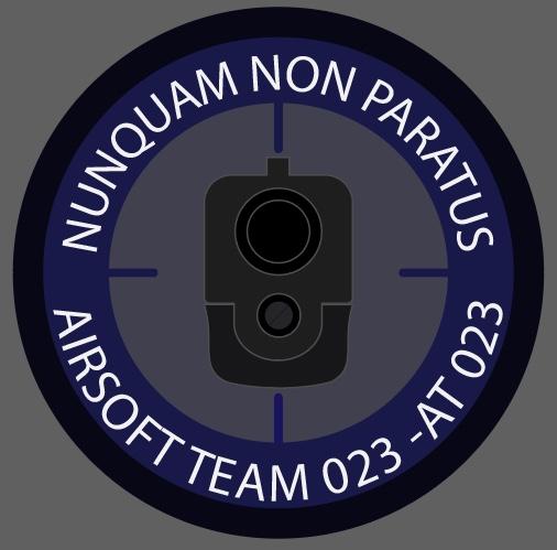 AIRSOFT TEAM 023 -AT 023 logo