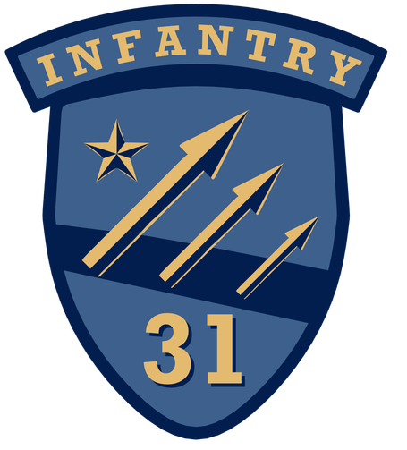 31st Infantry Airsoft logo